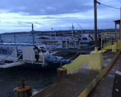 抵达码头了,马上就要登船