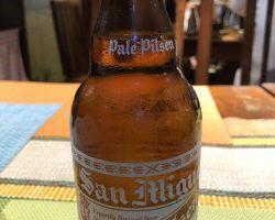 长滩岛上的特色啤酒,很多时间都在喝这个