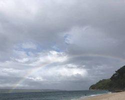 快要走的时候,竟然看到了彩虹