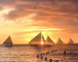 这是别人拍到的落日景色,这次可惜没赶上,希望下次带安琪儿来的时候能够看到长滩岛有名的最美日落