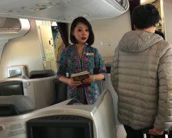 飞机上的空姐,漂亮吗?
