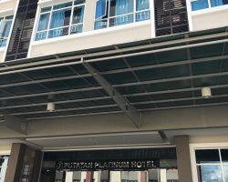 这是入住的文莱酒店