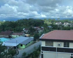 酒店外面的风景