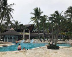 度假村的泳池