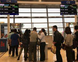 在吉隆坡等待起飞